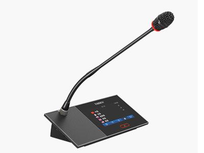"""臺電  HCS-4890D/52 代表單元 獨創的 MCA_STREAM 數字處理和傳輸技術 一條 6 芯電纜傳輸 64 種語言和各種信息 支持48kHz音頻采樣頻率,64通道頻率響應均可達30 Hz~20 kHz 長距離傳輸對音質不會有任何影響 """"環形手拉手""""連接,系統更可靠 分機單元麥克風增益和EQ獨立可調 會議主機具有光纖接口,使得遠距離的會議室合并成為現實 主機與電腦用TCP/IP連接方式 可實現會議系統的遠程控制,遠程診斷和升級 內置多路的內部通訊功能 系統電源可通過中控系統進行集中控制管理 多種方式的會議室合并/"""