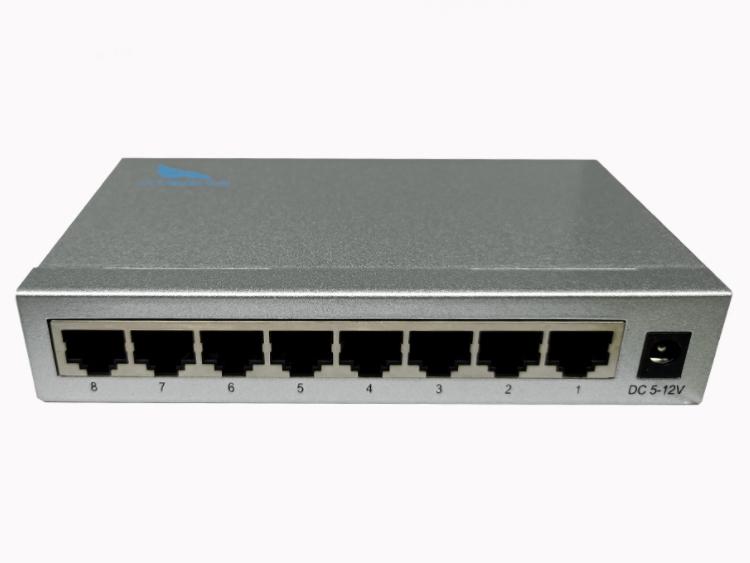 长飞 百兆 一光8电 单模单纤 CF-1018SW-20系列一光八电百兆光纤收发器: CF-1018SW-20系列多电口光纤收发器(又称光纤交换机)是将以太网的电接口与光接口之间的转换