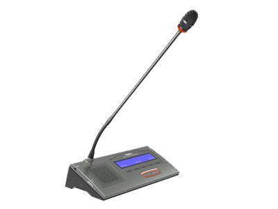 """臺電  HCS-4886NX/52 操作員單元 獨創的MCA_STREAM數字處理和傳輸技術 一條6芯電纜傳輸64種語言和各種信息 支持48kHz音頻采樣頻率,64通道頻率響應均可達30 Hz~20 kHz 長距離傳輸對音質不會有任何影響 """"環形手拉手""""連接,系統更可靠 分機單元麥克風增益和EQ獨立可調 會議主機具有光纖接口,使得遠距離的會議室合并成為現實 主機與電腦用TCP/IP連接方式 可實現會議系統的遠程控制,遠程診斷和升級 內置多路的內部通訊功能 系統電源可通過中控系統進行集中控制管理 多種方式的會議室合并/拆分功能"""