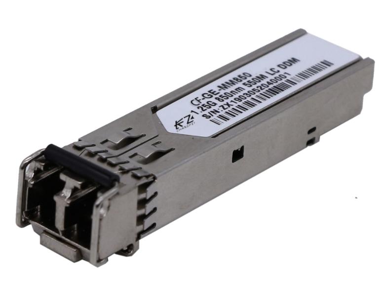 长飞 千兆多模双纤 F-GE-MM850 光模块是是一种多模双纤双向传输的光模块