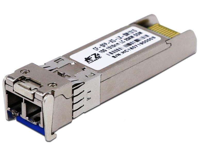 长飞 万兆单模双纤 20公里 CF-XG-SM13-20 长飞万兆单模双纤光模块是工作在1310nm和1550nm波长的光收发一体光模块