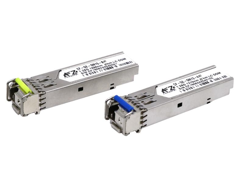 长飞 千兆 单模单纤 80公里 SFP光模块 CF-GE-SM14-A/B 80