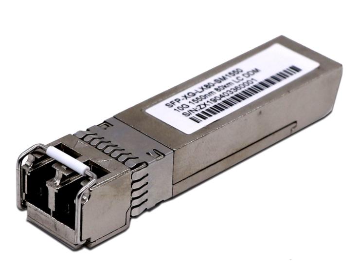 长飞 万兆单模双纤 80公里 CF-XG-SM13-80 长飞万兆单模双纤光模块是工作在1310nm和1550nm波长的光收发一体光模块