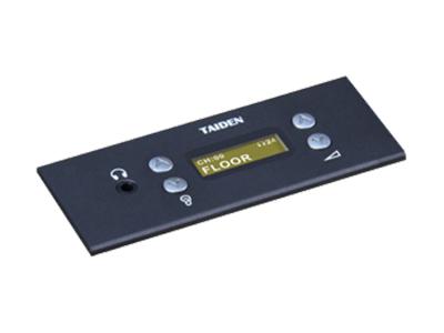 """臺電  HCS-48U6SELM 同傳單元 獨創的 MCA_STREAM 數字處理和傳輸技術 一條 6 芯電纜傳輸 64 種語言和各種信息 支持48kHz音頻采樣頻率,64通道頻率響應均可達30 Hz~20 kHz 長距離傳輸對音質不會有任何影響 """"環形手拉手""""連接,系統更可靠 分機單元麥克風增益和EQ獨立可調 會議主機具有光纖接口,使得遠距離的會議室合并成為現實 主機與電腦用TCP/IP連接方式 可實現會議系統的遠程控制,遠程診斷和升級 內置多路的內部通訊功能 系統電源可通過中控系統進行集中控制管理 多種方式的會議室合并/"""