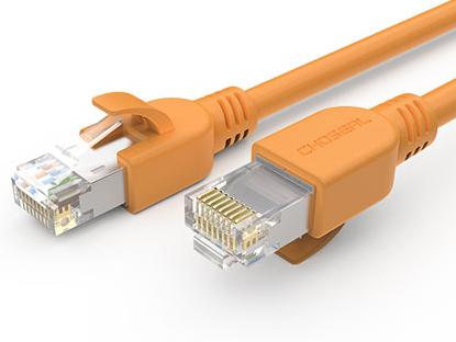秋叶原 超六类屏蔽网络跳线橙色2米 Q5066CT2