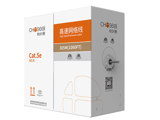 秋叶原 超五类非屏蔽网络线缆 灰色305米 Q2606AT305