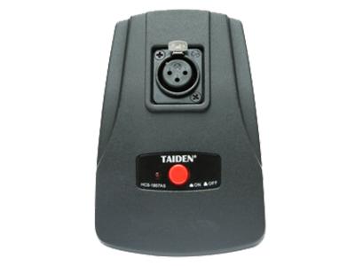 臺電  HCS-1857AS 桌面式話筒座 精致典雅的結構設計,符合人體工程學,極具現代氣息 設計用于增強拾音、會議、電視廣播、專業錄音等高質量要求的拾音應用 雙鵝頸式彎曲調節結構,可以任意地將麥克風調整到合適的位置 附防風海綿罩,可減低在講話時收到不雅的噴氣聲及其他風聲的情況出現 駐極體電容式心形單指向性話筒 超強抗手機干擾能力 內置音頭前置供電及放大器組件,需要外接直流11 V至52 V幻象供電工作 內置高質量低頻衰減電路 簡捷、快速的安裝方式 低阻抗的平衡音頻輸出 桌面式話筒座可配套于其他3針卡儂公頭的話筒裝置使用