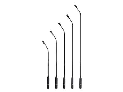 臺電  HCS-1857 鵝頸話筒精致典雅的結構設計,符合人體工程學,極具現代氣息 設計用于增強拾音、會議、電視廣播、專業錄音等高質量要求的拾音應用 雙鵝頸式彎曲調節結構,可以任意地將麥克風調整到合適的位置 附防風海綿罩,可減低在講話時收到不雅的噴氣聲及其他風聲的情況出現 駐極體電容式心形單指向性話筒 超強抗手機干擾能力 內置音頭前置供電及放大器組件,需要外接直流11 V至52 V幻象供電工作 內置高質量低頻衰減電路 簡捷、快速的安裝方式 低阻抗的平衡音頻輸出 桌面式話筒座可配套于其他3針卡儂公頭的話筒裝置使用