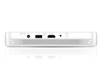 腾讯极光投影T1 小巧便携 | TOF对焦 | 智能自动对焦 | HDR 10动态范围 兼容4K | 100+英寸画面