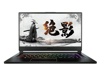 微星 绝影GS65 15.6英寸240Hz电竞全面屏AI智能游戏本笔记本电脑(i7-9750H 8G*2 1T SSD RTX2070MQ )