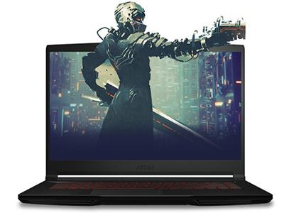 微星 侠客GF63 15.6英寸轻薄窄边框游戏笔记本电脑(十代i5 8G 512G SSD GTX1650 MQ 144Hz电竞屏)