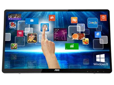 "AOC  E2472PWUT/BS23.6""W  触摸屏  1920*1080  250 cd/m2 50000000:1  2ms GtG  60HZ  170°/160°(CR>11)  VGA  HDMI  USB  音频输入 音频输出 可壁挂 2Wx2   政采商城"