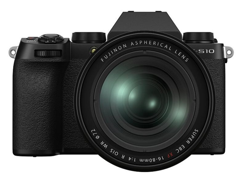 富士(FUJIFILM)X-S10 微单相机 16-80mm套机 2610万像素 五轴防抖 翻转屏 漂白模式