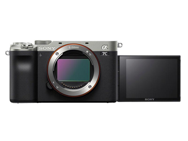索尼(SONY)Alpha 7C 全画幅微单数码相机 轻便小巧 实时眼部对焦 银色