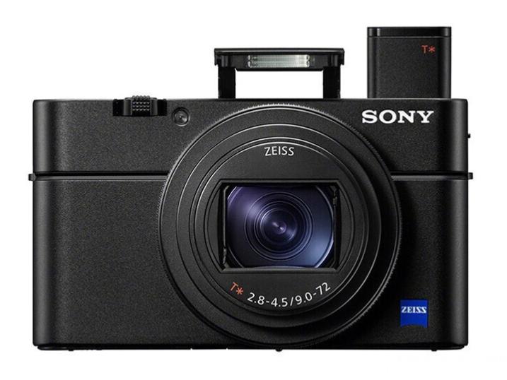 索尼(SONY)DSC-RX100M6 黑卡数码相机 1英寸大底(蔡司24-200mm F2.8-4.5镜头 4K视频 触摸对焦 黑卡6)