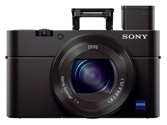 索尼(SONY)RX100M3 黑卡数码相机Vlog拍摄 1英寸大底(蔡司24-70mm F1.8-2.8镜头 WiFi/翻转屏 黑卡3)