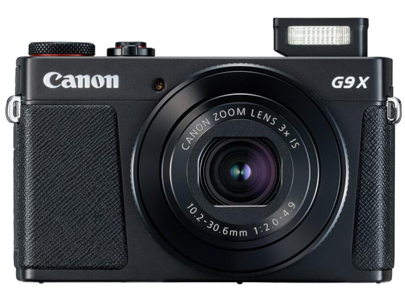 佳能(Canon)PowerShot G9 X Mark II G9X2 数码相机 黑色(2010万有效像素 28-84mm变焦)Vlog相机视频