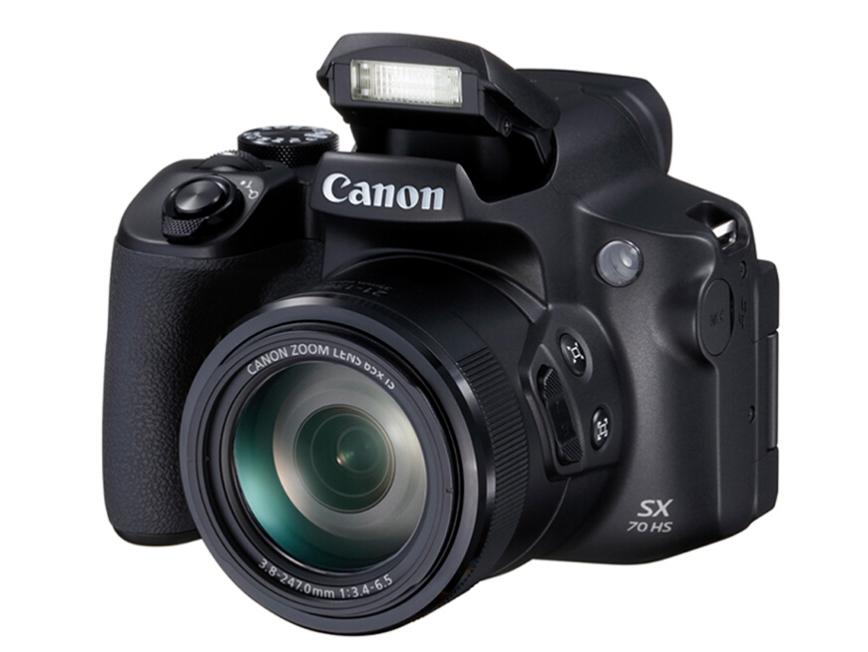 佳能(Canon)PowerShot SX70 HS 数码相机 高清 旅游 摄影 65倍长焦数码照相机