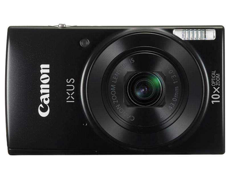 佳能(Canon)IXUS 190 数码相机 黑色(2000万像素 10倍光学变焦 24mm超广角 支持Wi-Fi和NFC)