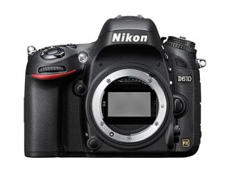 尼康(Nikon) D610机身 单反相机 入门级全画幅机身 d610(约2,426万有效像素 轻巧便携)