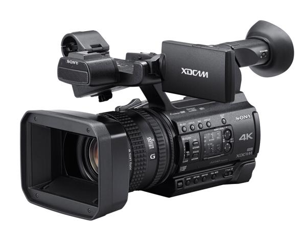 索尼(SONY) PXW-Z150 专业高清摄像机 手持式4K 广播摄录一体机 高清慢动作