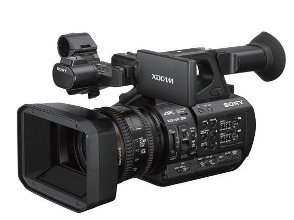 索尼(SONY) 专业高清摄像机PXW-Z190/Z190V 婚庆 会议 直播手持4K摄录一体机