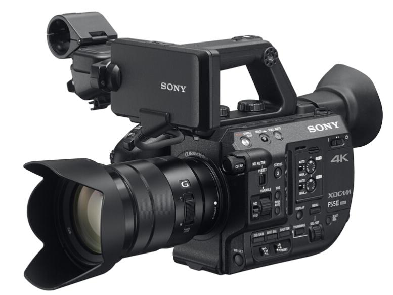 索尼(SONY)PXW-FS5M2 4K专业数码摄像机 便携式摄录一体 fs5m2k PXW-FS5M2K(含18-105镜头)