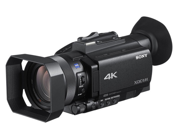 索尼(SONY)PXW-Z90摄像机 4K高清HDR掌中宝系列专业手持式摄录一体机