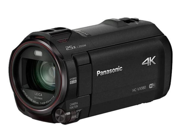 松下(Panasonic) 4K摄像机 家用高清4K便携DV录像直播数码摄影录影录像机VX980GK