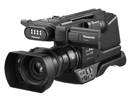 松下(Panasonic)摄像机 摄影机专业级高端肩扛式高清数码直播婚庆会议HC-MDH3GK