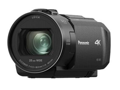 松下(Panasonic)4K摄像机家用直播高清光学24倍变便携数码DV录像录影摄影机VX1GK