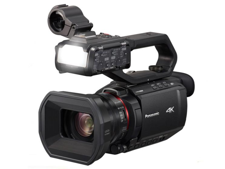 松下(Panasonic)AG-CX98MC 4K广播级便携式摄像机络直播摄像机