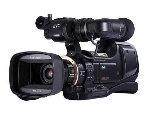 杰伟世(JVC )JY-HM95 AC 专业肩扛式高清数码摄像机/摄影机 婚庆/会议/录课 (支持双卡双电)