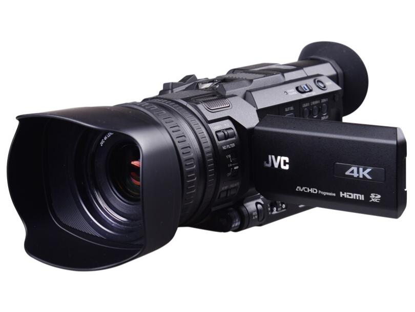杰伟世(JVC)GY-HM170EC 手持式4K全高清摄像机/摄影机 专业会议/采访 解决方案 12倍光学变焦