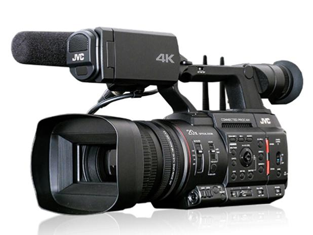 杰伟世(JVC)GY-HC550EC 4k高清采访会议新闻直播摄像机