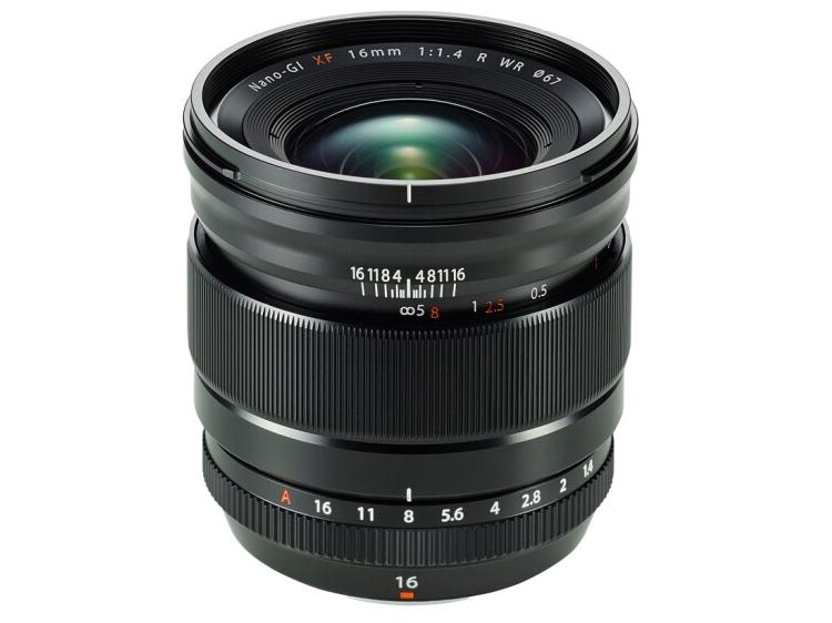 富士(FUJIFILM)XF16mm F1.4 R WR 超广角定焦镜头 超大光圈效果 适合风景和微距摄影 适用于 XT30 XT3