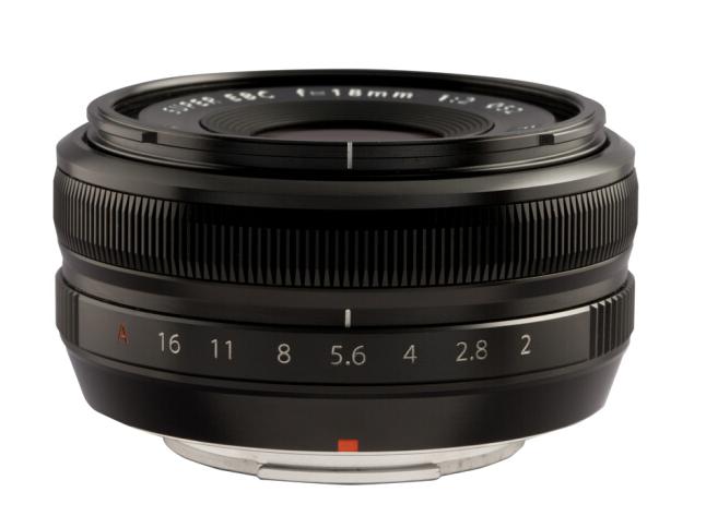 富士(FUJIFILM)XF18mm F2 R 标准广角定焦镜头 便携小巧 街拍风光得心应手