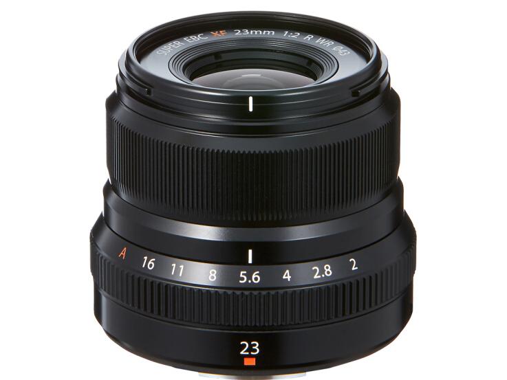 富士(FUJIFILM)XF23mm F2 R WR 标准定焦镜头 经典人文街拍 防滴防尘