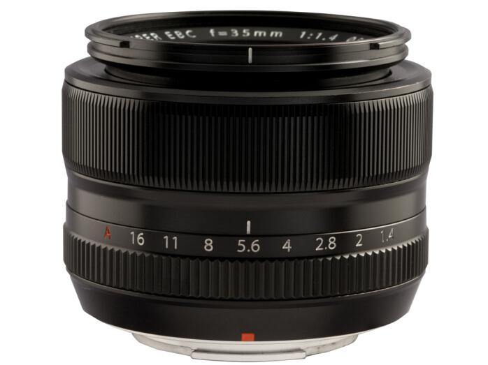 富士(FUJIFILM)XF35mm F1.4 R 标准镜头 小体积 大光圈 虚化流畅