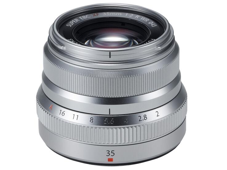 富士(FUJIFILM)XF35mm F2.0 R WR 标准定焦镜头 复古造型