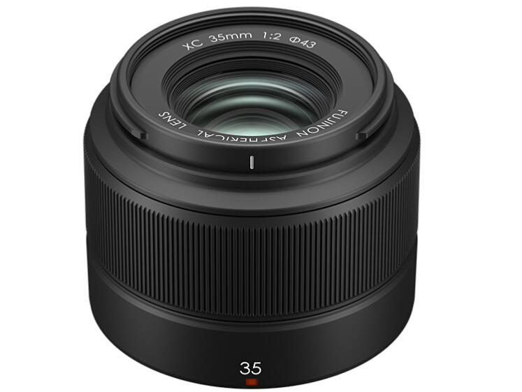 富士(FUJIFILM)XC35mmF2 轻便定焦镜头 安静快速对焦 扫街人文 黑色