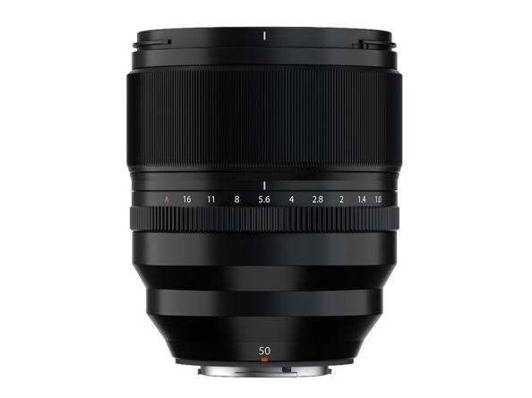 富士(FUJIFILM)XF50mm F1.0 R WR 中长定焦镜头 超大光圈 自动对焦