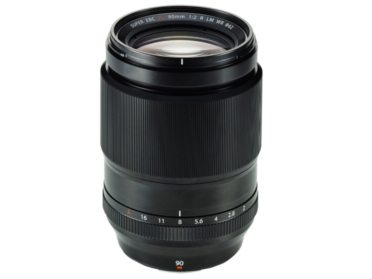 富士(FUJIFILM)XF90mm F2 R LM WR 长焦定焦人像镜头 优化画面边缘光斑 高速对焦设计