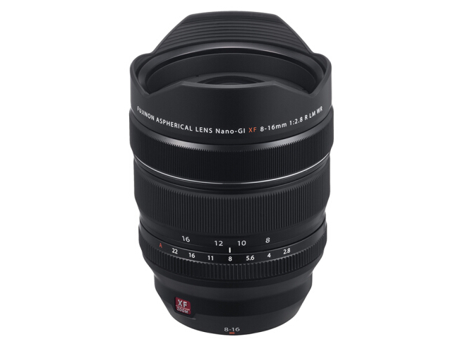 富士(FUJIFILM)XF8-16mm F2.8 R LM WR 超广角变焦镜头