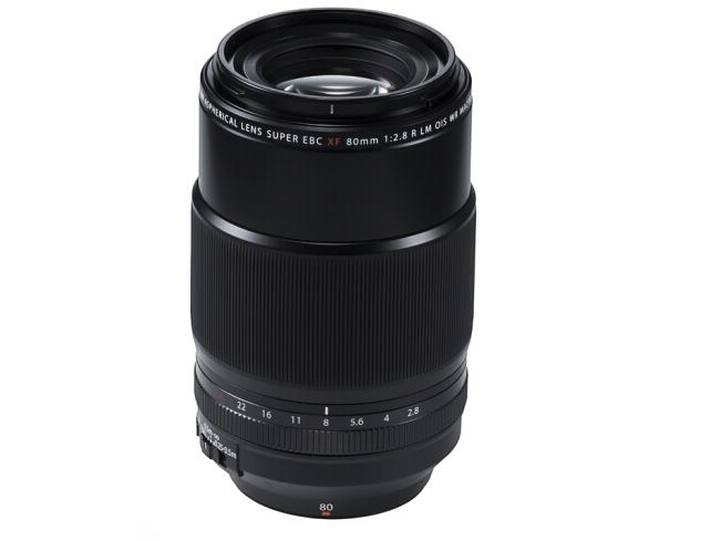 富士(FUJIFILM)XF80mm F2.8 R LM OIS WR Macro 中长焦定焦微距镜头