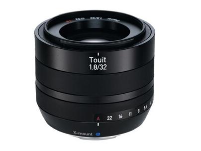 Zeiss/蔡司Touit 富士X卡口微单适用 广角定焦镜头 1.8/32mm 富士X卡口