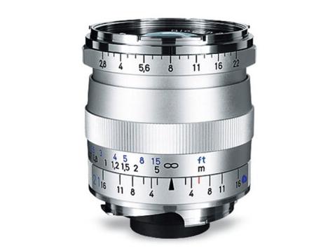 蔡司(ZEISS)Distagon T* ZM徕卡口 相机镜头 2,8/21, silver 徕卡口