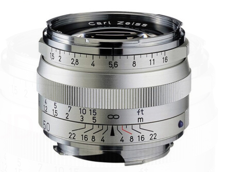 蔡司(ZEISS)Distagon T* ZM徕卡口 相机镜头 1,5/50, silver 徕卡口