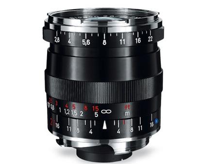 蔡司(ZEISS)Distagon T* ZM徕卡口 相机镜头 4/85, silver 徕卡口